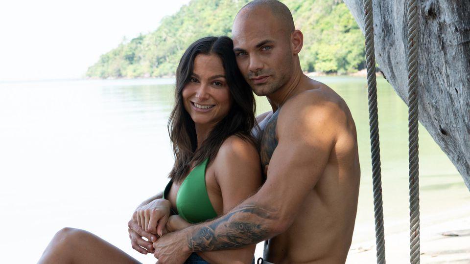 "Ziania und Fabian bei ""Temptation Island"""