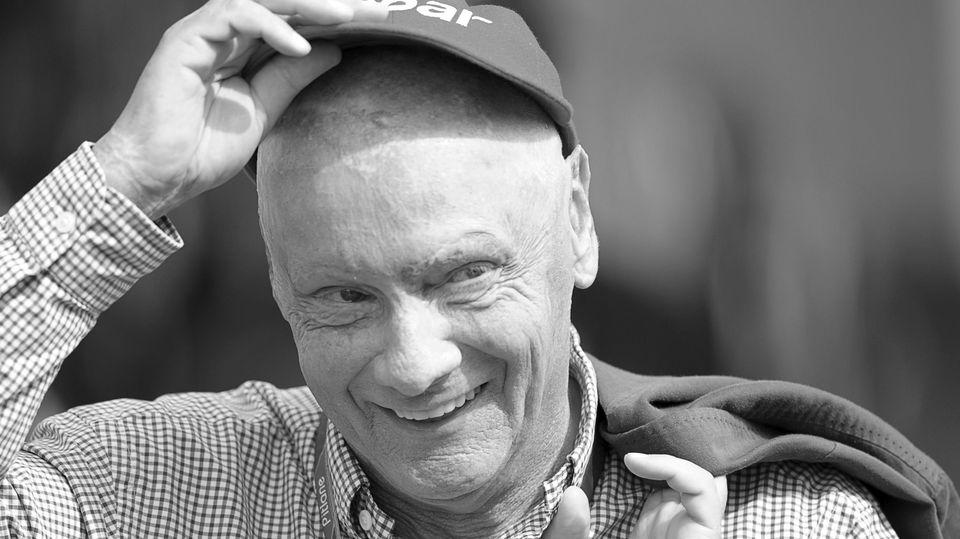 Niki Lauda ist gestorben.
