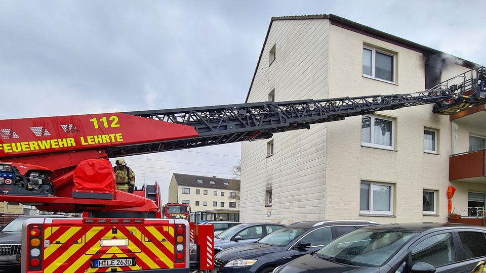 Eine brennende Fritteuse sorgte in Lehrte fast für einen Wohnungsbrand.