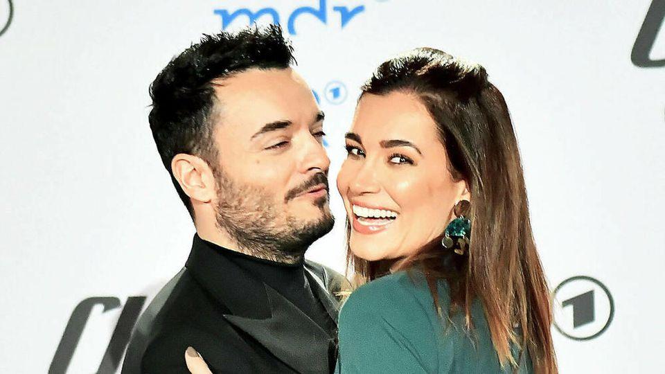 Jana Ina Zarrella und Giovanni Zarrella erneuern ihr Eheverprechen
