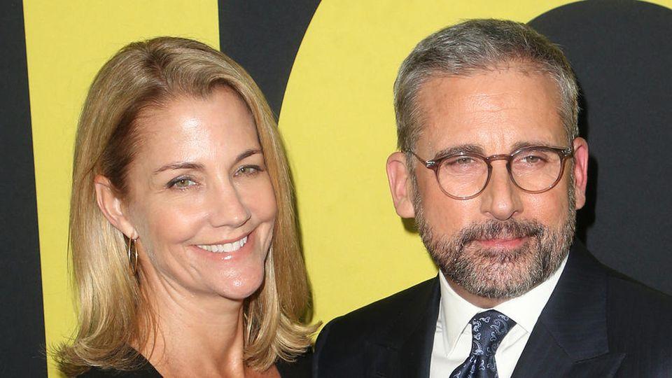 Nancy und Steve Carell haben 1995 geheiratet
