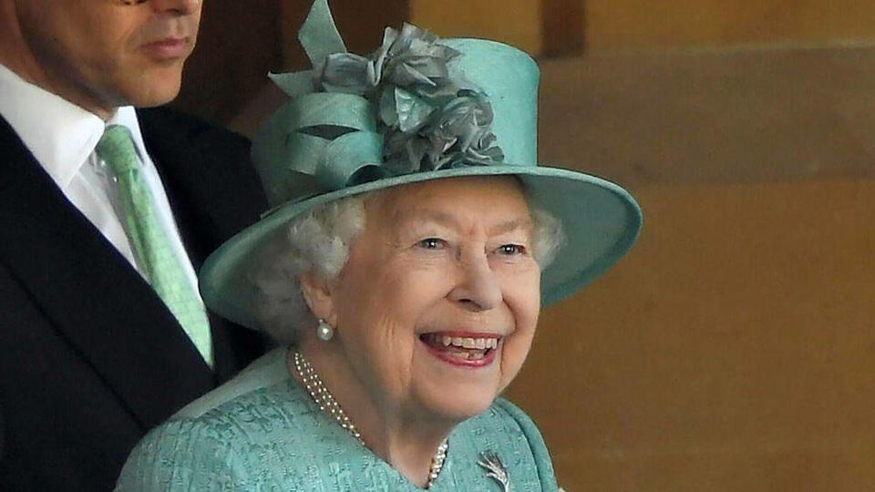 Queen Elizabeth II. hatte an ihrem 94. Geburtstag gut lachen.