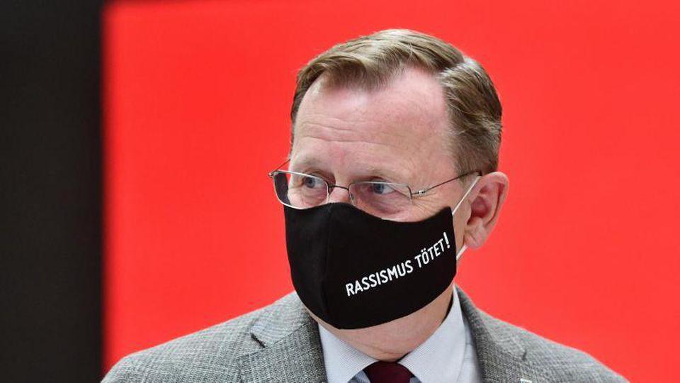 Bodo Ramelow (Die Linke), Ministerpräsident von Thüringen. Foto: Frank May/dpa/Archiv
