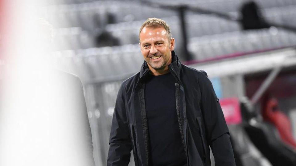 Münchens Trainer Hansi Flick. Foto: Matthias Balk/dpa/Archivbild