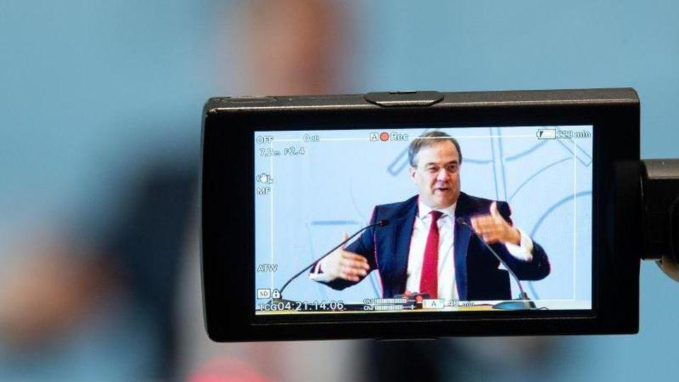 Armin Laschet (CDU), Ministerpräsident von Nordrhein-Westfalen. Foto: Federico Gambarini