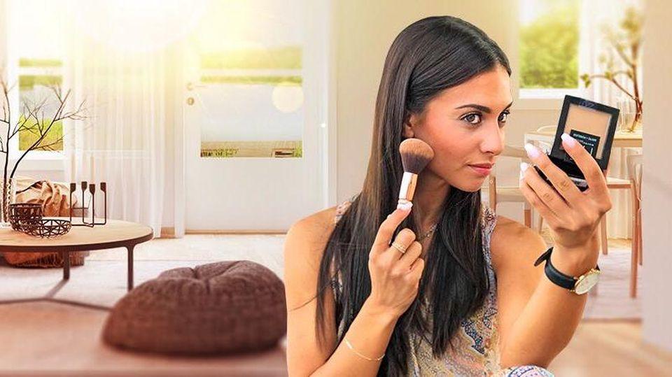 So übersteht das Make-up die Hitze.