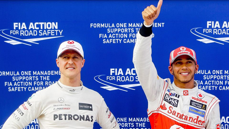 Lewis Hamilton to replace Michael Schumacher at Mercedes