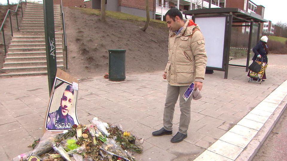 Housam Abbas ist sich sicher, dass Schießereien und Waffen das ist, woran Schwedens Gesellschaft leidet.
