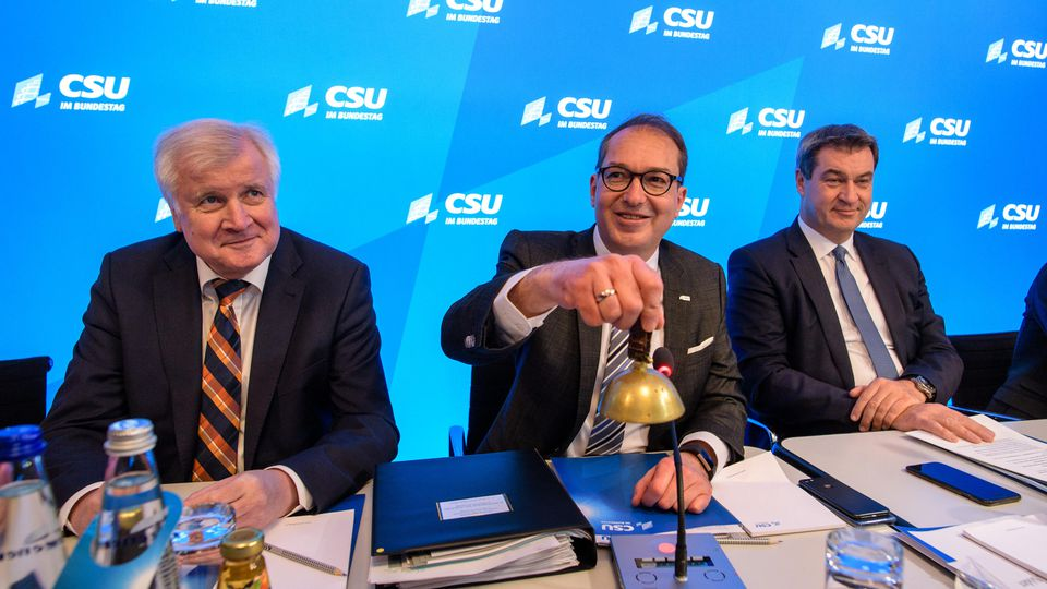 CSU Klausurtagung In Seeon U0026quot Streit L U00e4hmt Streit