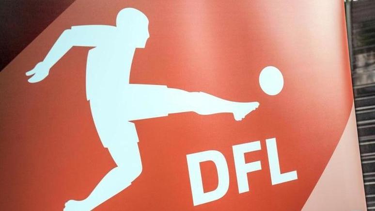 Das Logo Deutschen Fußball Liga. Foto: Frank Rumpenhorst/dpa