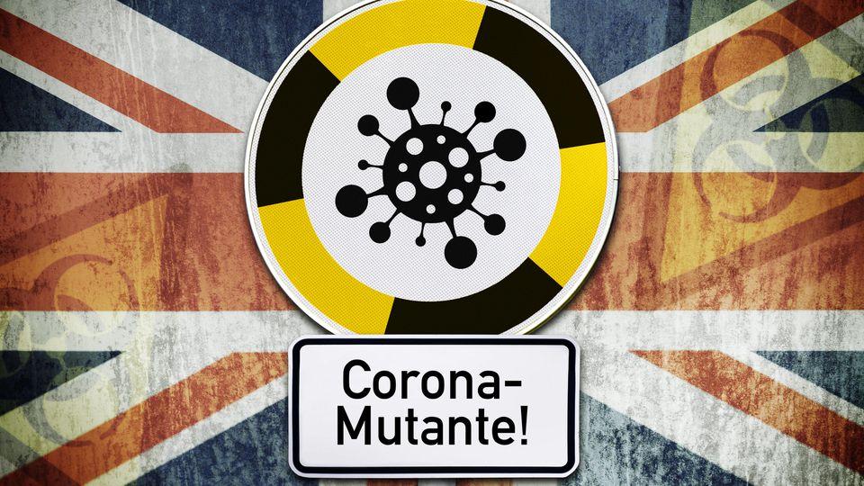 Eine Infektion mit der britischen Corona-Variante B.1.1.7 verläuft nicht tödlicher, so das Ergebnis verschiedener Studien.