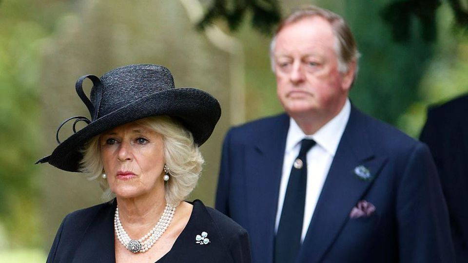 Herzogin Camilla und ihr Ex-Mann Andrew Parker Bowles