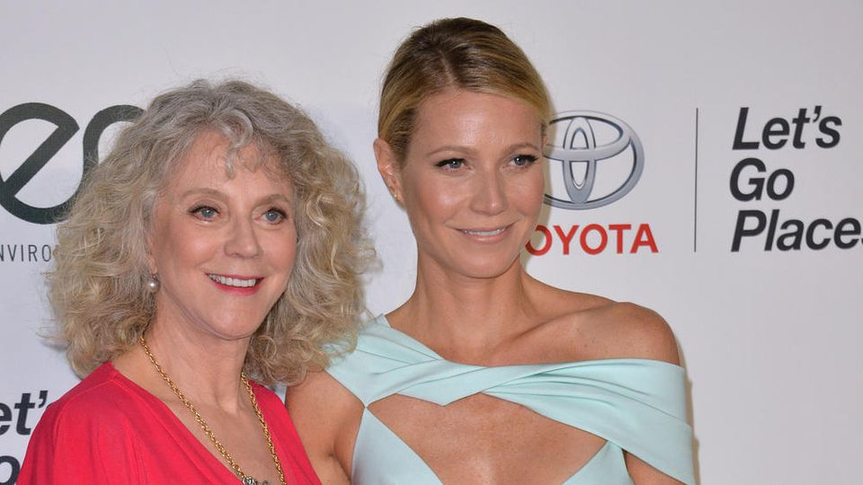 Gwyneth Paltrow (r.) mit ihrer Mutter Blythe Danner.