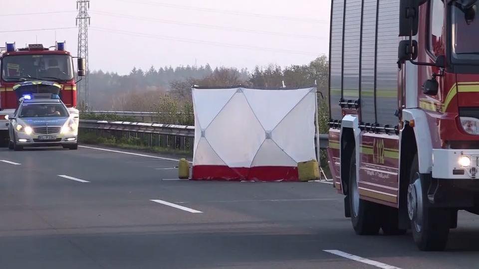 Unfall auf der A31 bei Schüttorf