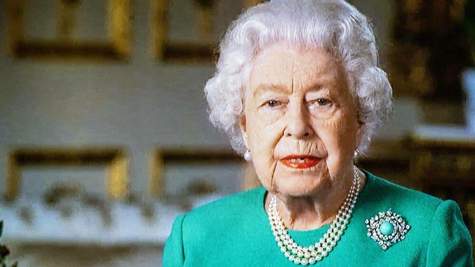 Die Queen hielt aufgrund der Corona-Krise eine TV-Ansprache.