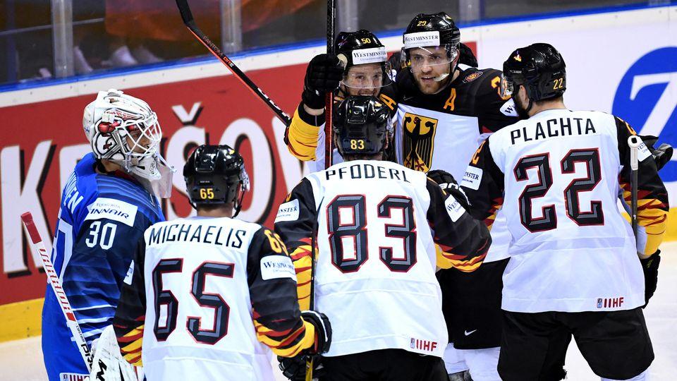 Eishockey WM: Finnland - Deutschland
