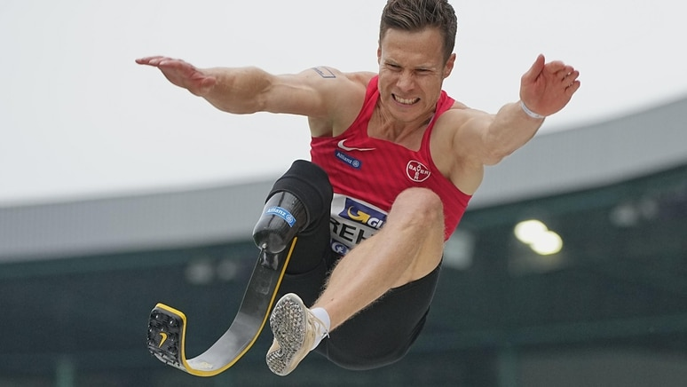 Markus Rehm ist Para-Weltrekordler im Weitsprung