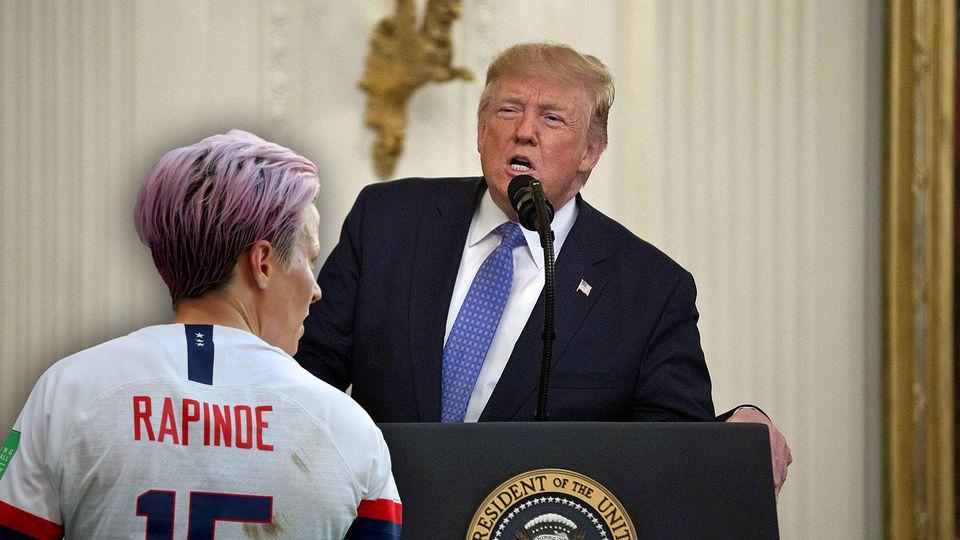 Megan Rapinoe & Donald Trump