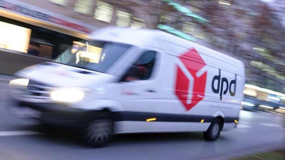 Lieferwagen des Paketdienstes DPD. Foto: Katharina Redanz/dpa/Archivbild