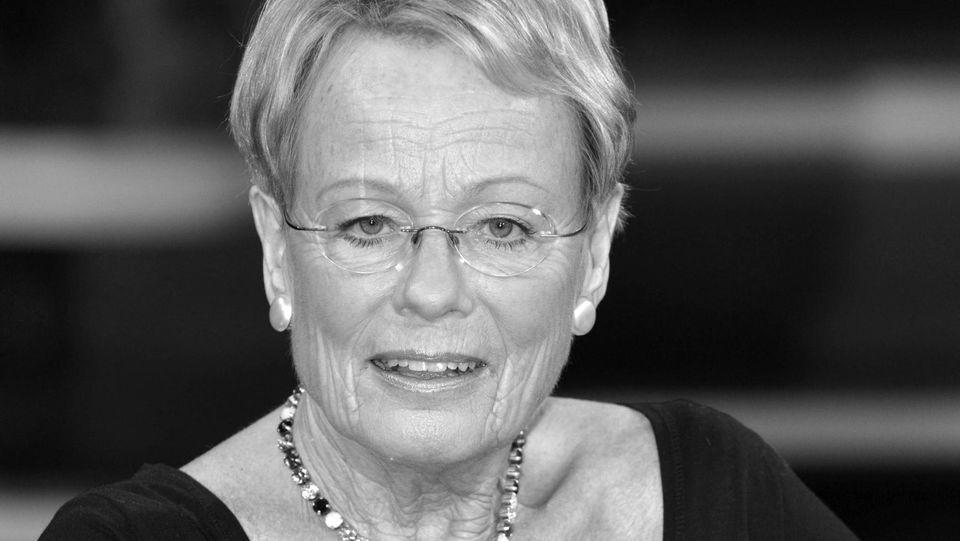 Journalistin Wibke Bruhns ist tot