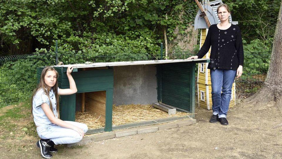 Wieder Enten gestohlen bei Familie Winterscheidt