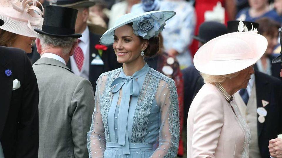 Herzogin Kate beim diesjährigen Ascot Opening Day