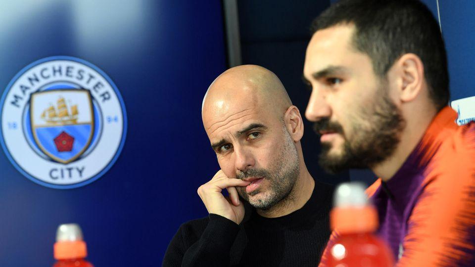 Pressekonferenz Manchester City