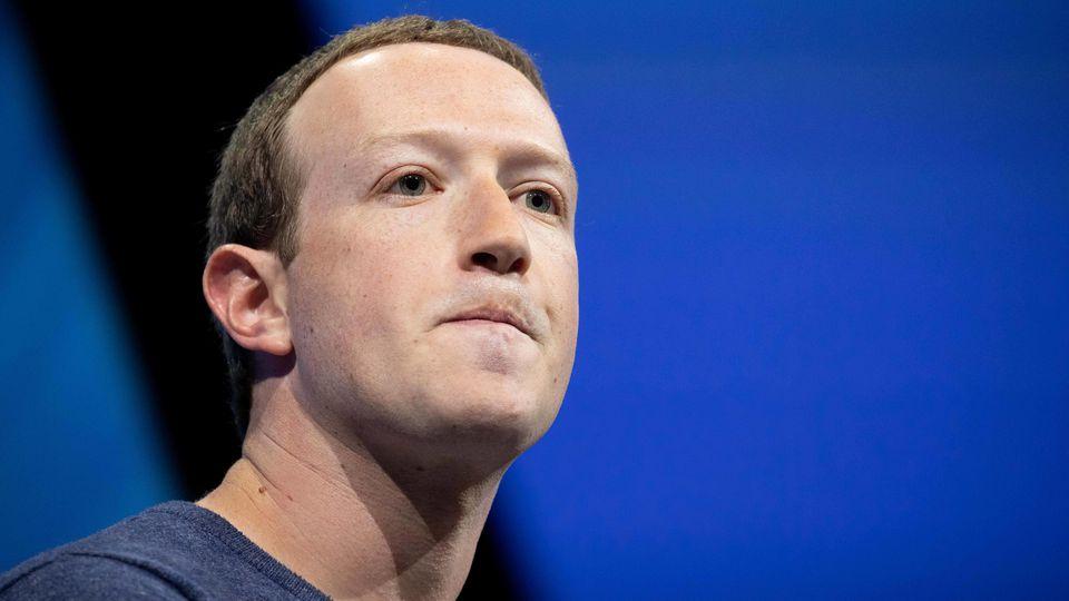 Mark Zuckerberg Chef Facebook