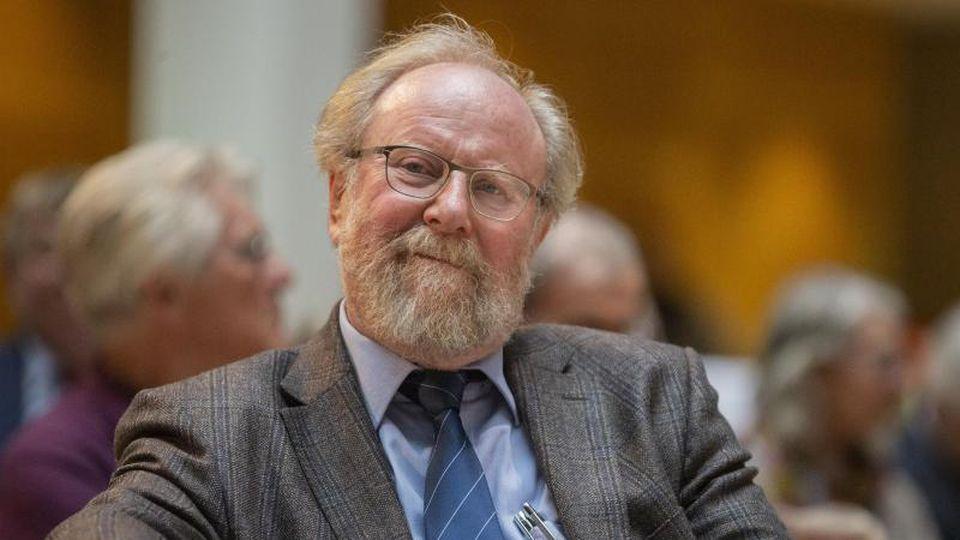 Wolfgang Thierse im Herbst 2019 im Willy-Brandt-Haus in Berlin. Foto: Christoph Soeder/dpa