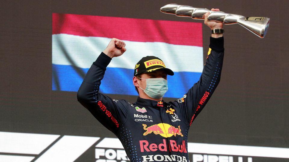 Max Verstappen jubelte in der Formel 1 zum 11. Mal ganz oben auf dem Podium