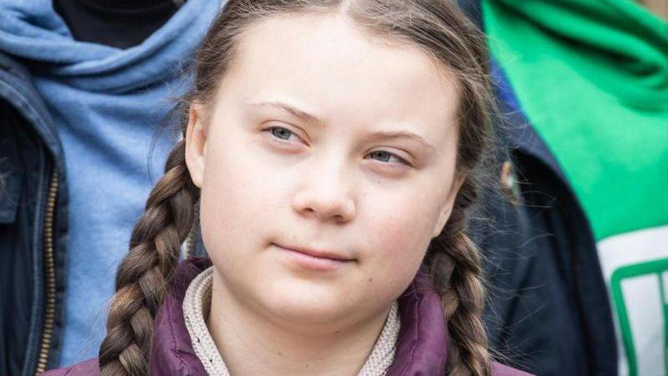 Umweltaktivistin Greta Thunberg. Foto: Michael Kappeler/dpa/Archivbild