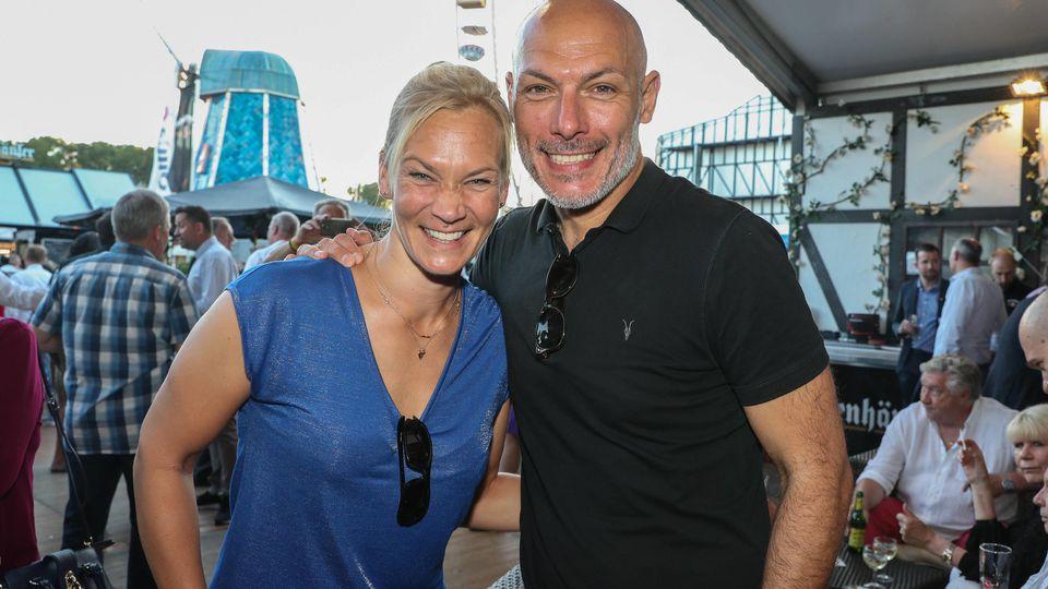 Bibiana Steinhaus und Howard Webb