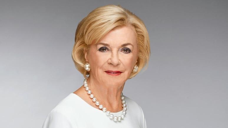 Liz Mohn ist unter anderem stellvertretende Vorstandsvorsitzende der Bertelsmann Stiftung.