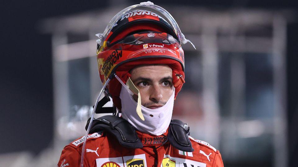 Carlos Sainz wurde beim GP in Bahrain Achter.