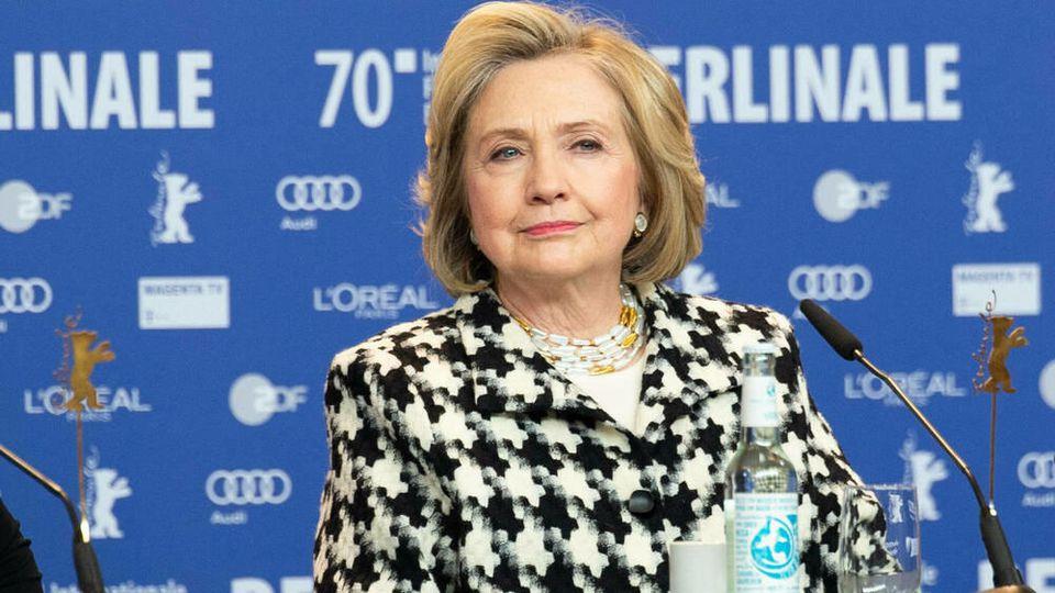 Hillary Clinton sprach auf er Berlinale nicht nur über ihre neue Doku-Serie.