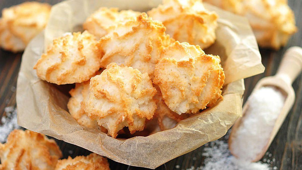 Weihnachtsplätzchen Kokosmakronen.Weihnachtsplätzchen So Gelingen Leckere Kokosmakronen