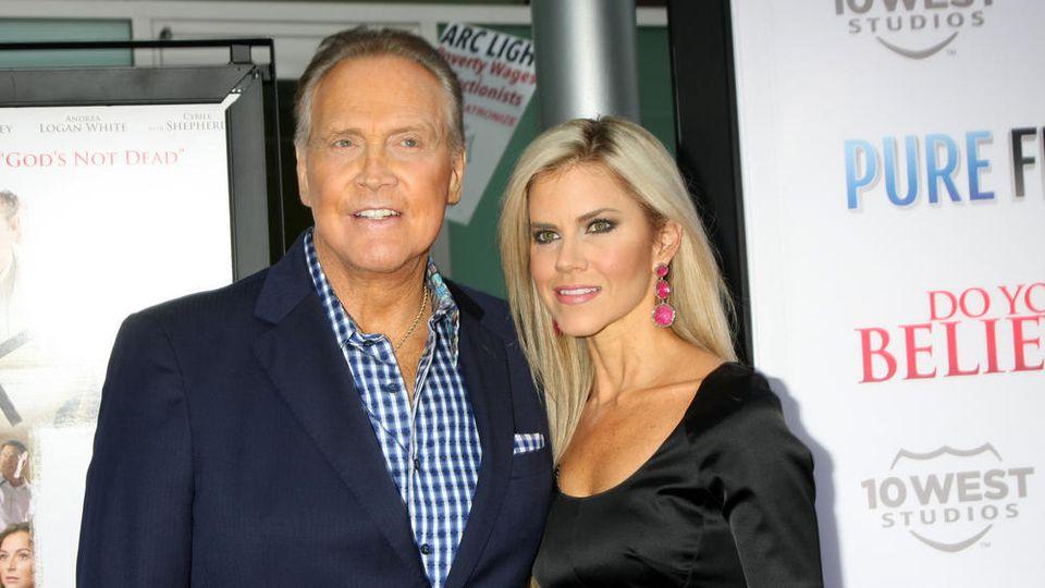 Lee Majors mit seiner Ehefrau Faith in Los Angeles
