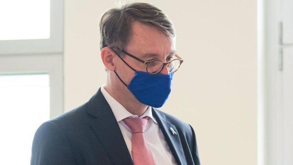Roland Wöller (CDU), Innenminister von Sachsen. Foto: Robert Michael/dpa