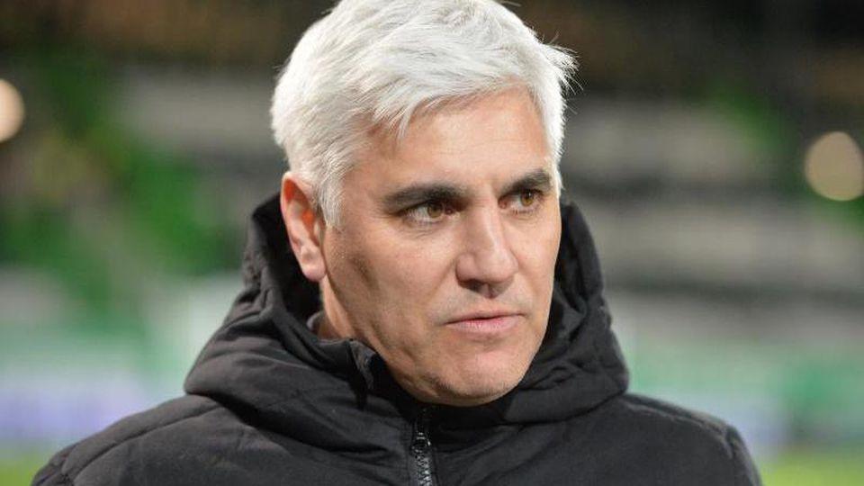 Andreas Bornemann, Sportvorstand von St. Pauli. Foto: Timm Schamberger/dpa/Archivbild