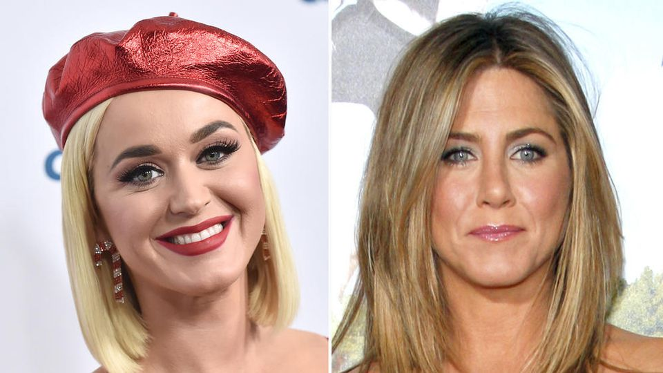 Gerüchten zufolge soll Jennifer Aniston die Patentante von Katy Perrys Tochter werden.