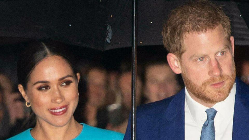 Prinz Harry und Herzogin Meghan sollen in den USA gelandet sein