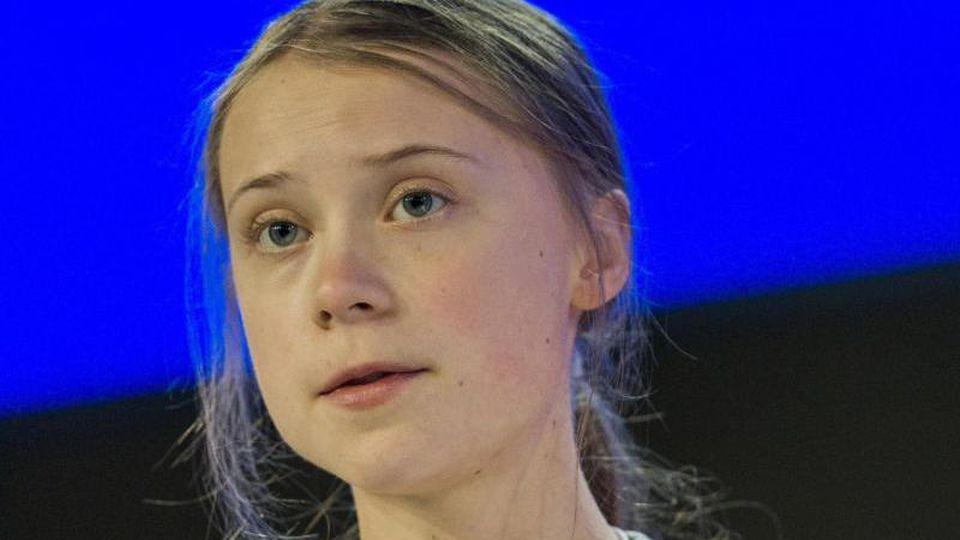 Greta Thunberg, Umweltaktivistin und Schülerin aus Schweden. Foto: Alessandro Della Valle/KEYSTONE/dpa/Archivbild