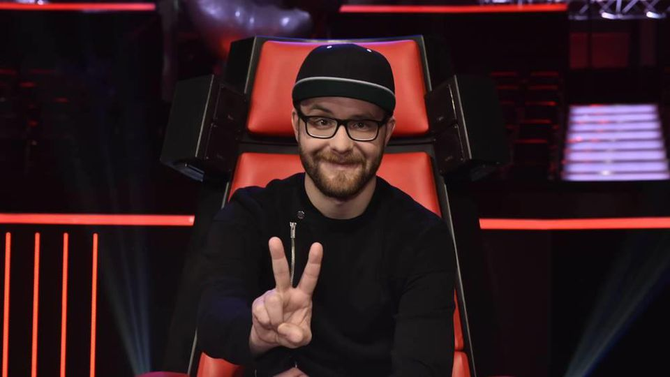 "Mark Forster als Coach bei ""The Voice of Germany"""