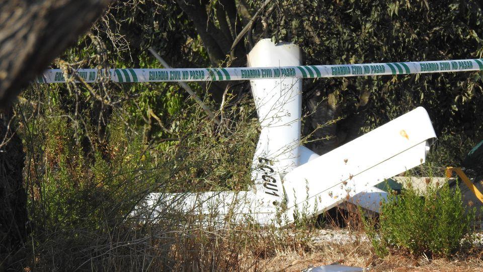 Flugzeugwrack: Über Mallorca ereignet sich ein Horror-Crash.