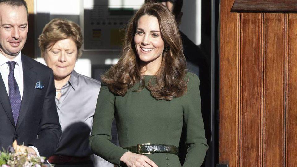 Herzogin Kate bei ihrem jüngsten Solo-Auftritt in London