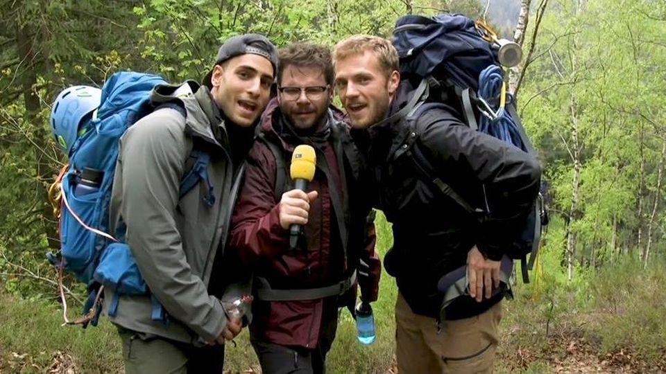 GZSZ: Timur Ülker, Thomas Drechsel und Niklas Osterloh im Harz.