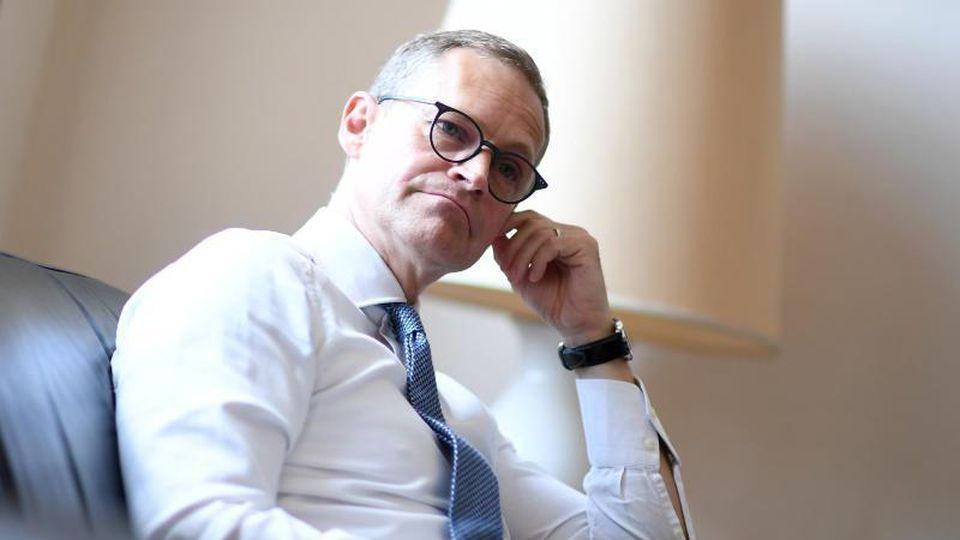 Michael Müller (SPD), Berlins Regierender Bürgermeister, spricht im Interview. Foto: Britta Pedersen/Archivbild