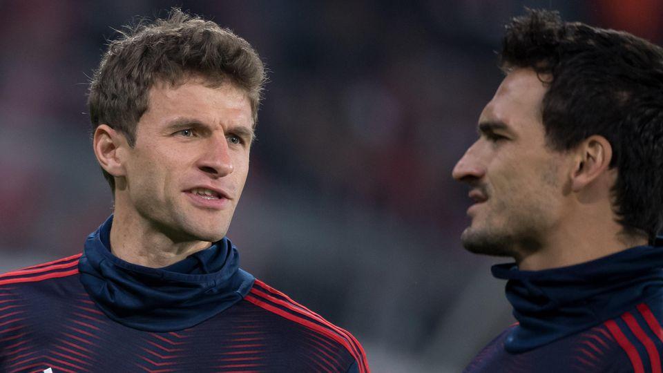Müssen sie sich Sorgen machen? Thomas Müller und Mats Hummels gehören zu alten Garde.