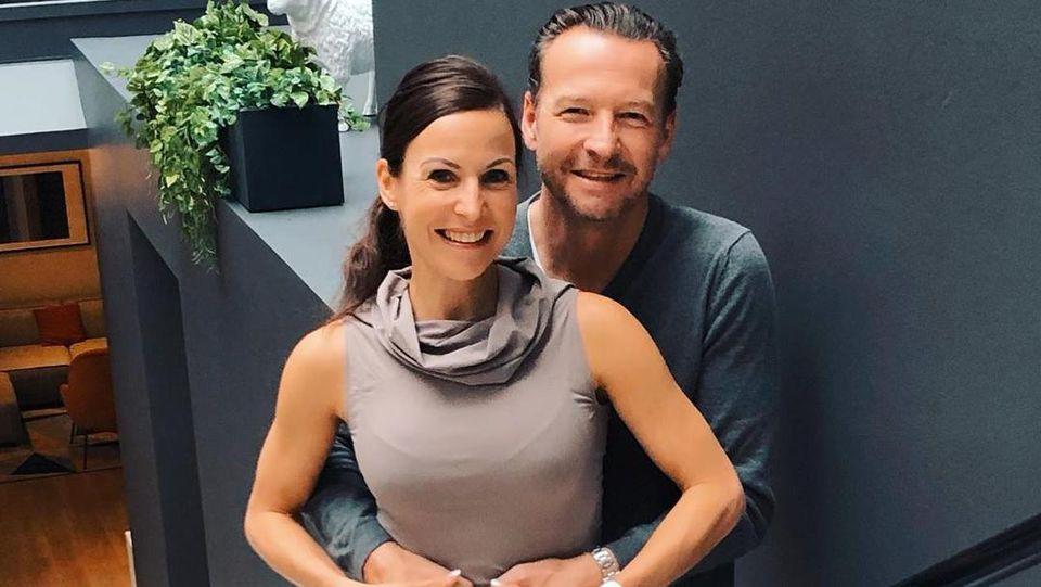 Sabrina Mockenhaupt und ihr Mann Kay Gregor sind schon ein Jahr lang verheiratet.