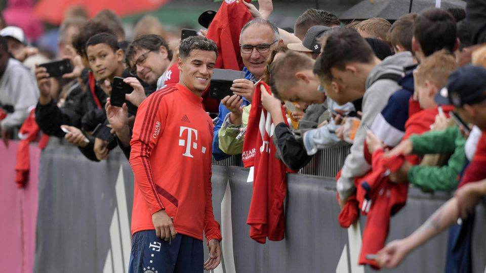 20 08 2019 Fussball 1 Liga 2019 2020 Training des FC Bayern München in München an der Säbenerst